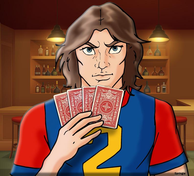 Poker Face by springie