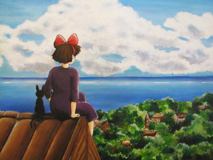 Kiki's dream by twillis