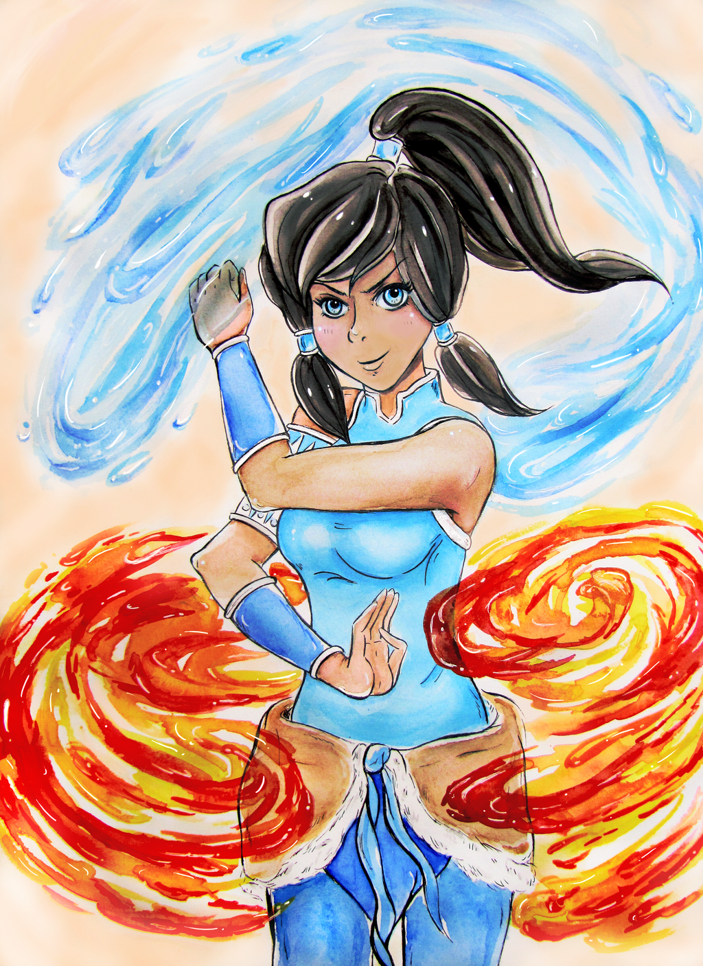 Avatar Korra by twillis