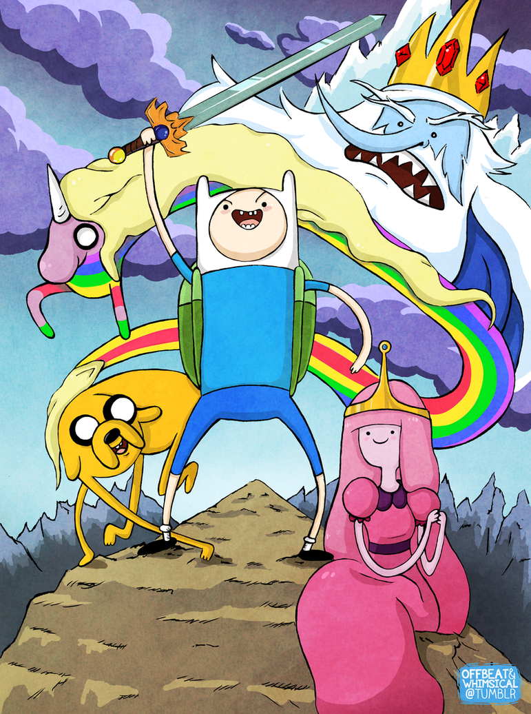 Adventure Time! by twillis