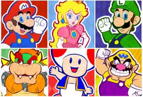 Mario party by twillis