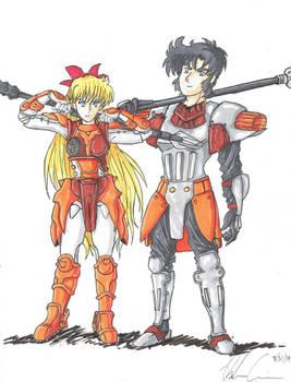 Kento of hard rock and sailor Venus
