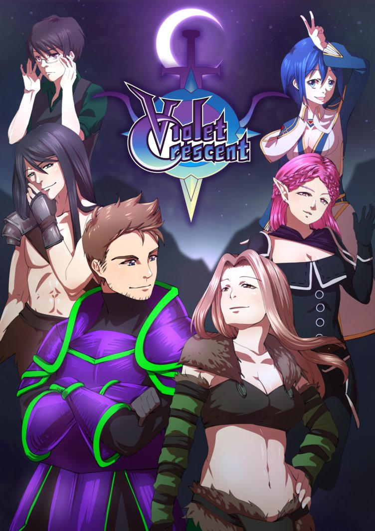 Violet Crescent: Cover page