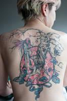 Neko Tattoo WIP by RemiisMeltingDots