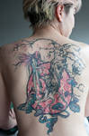 Neko Tattoo WIP