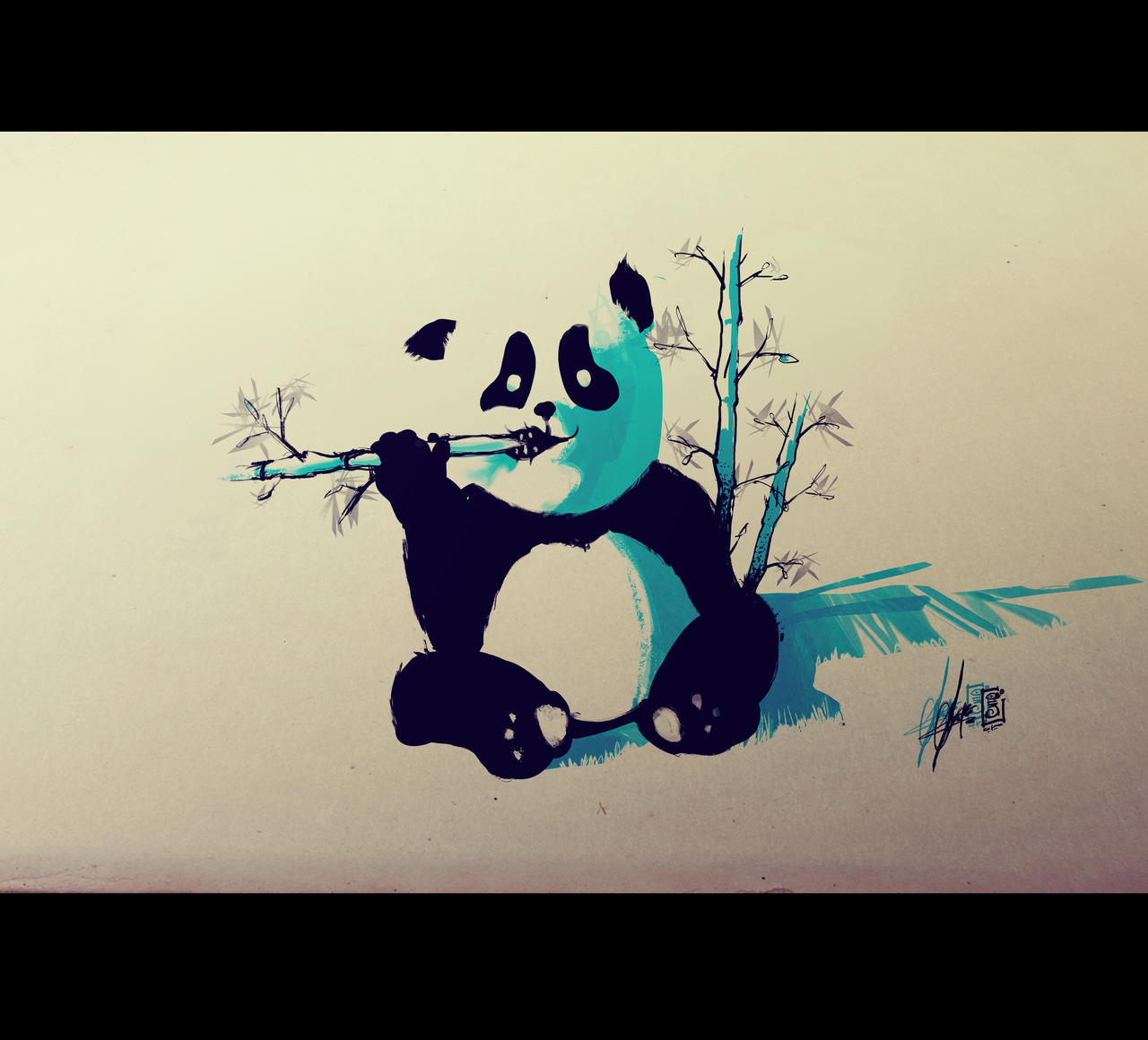 Panda Flash tattoo by RemiisMeltingDots on DeviantArt