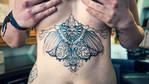 skull tattoo wings 6