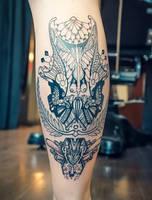 tattoo laurel first WIP by RemiisMeltingDots