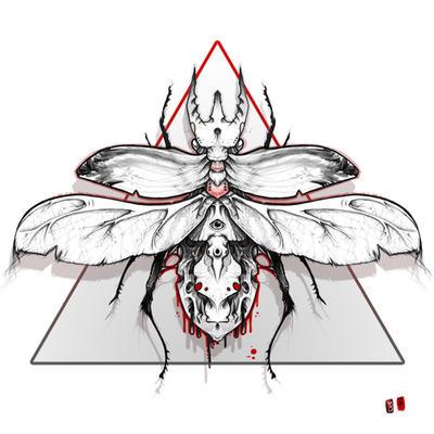 scarab print by RemiisMeltingDots on DeviantArt