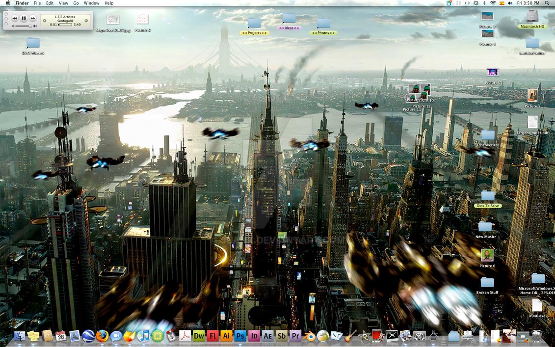 My Current Desktop by JuanX