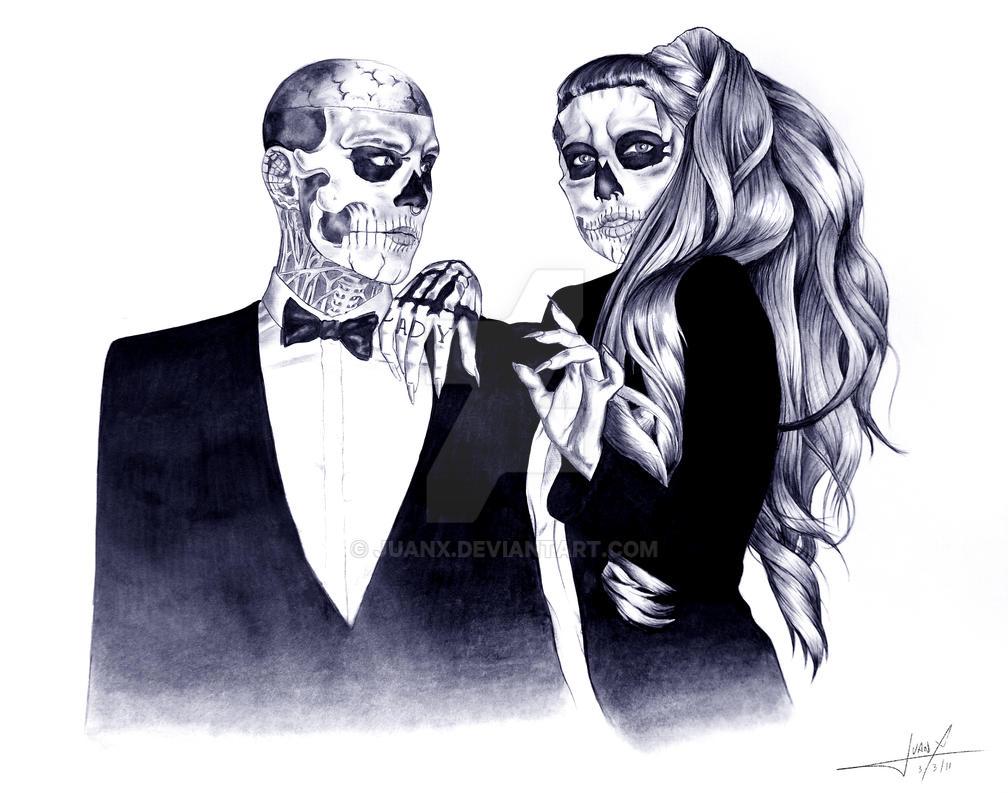 Gaga and Rico - Original by JuanX