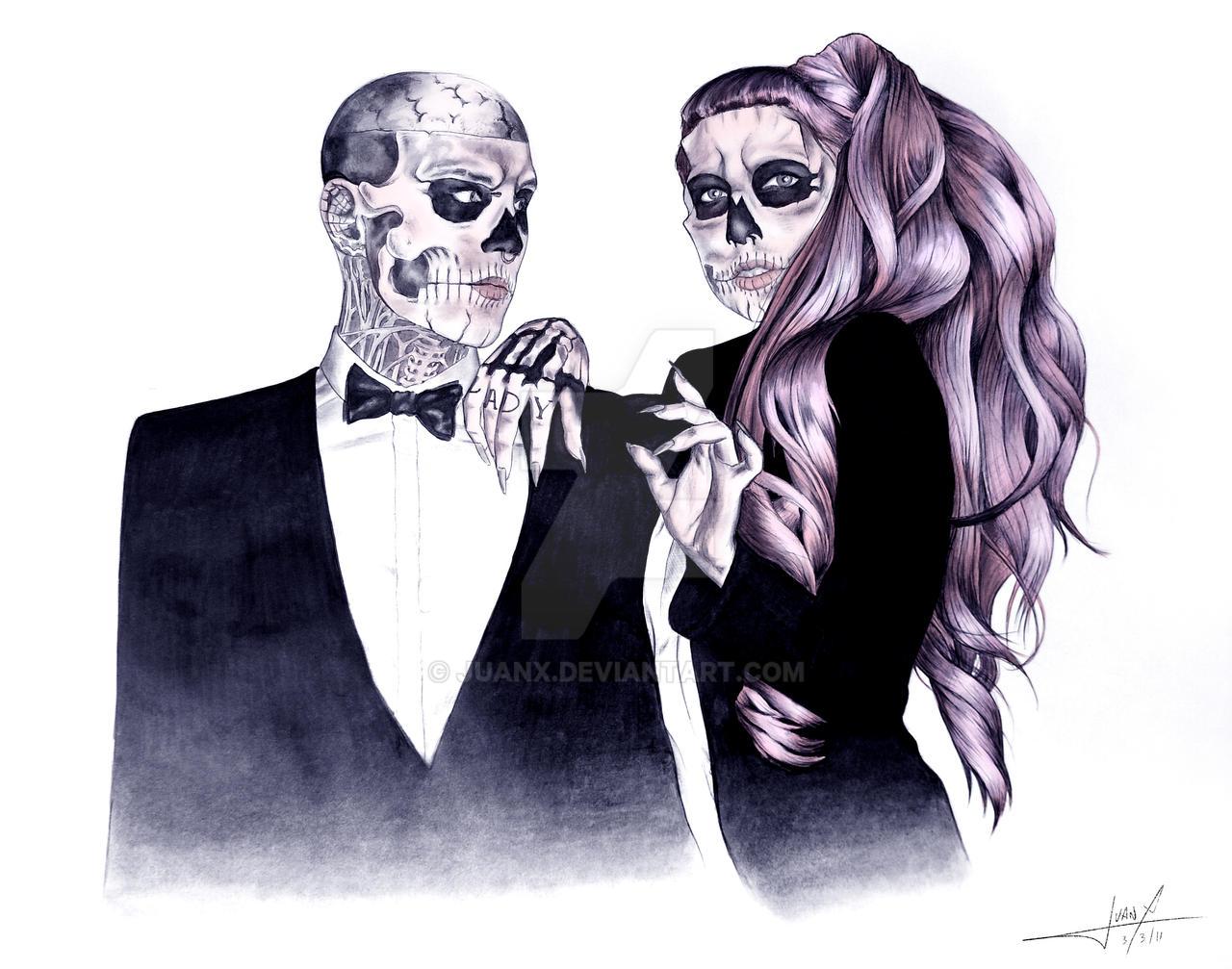 Gaga and Rico - Color by JuanX