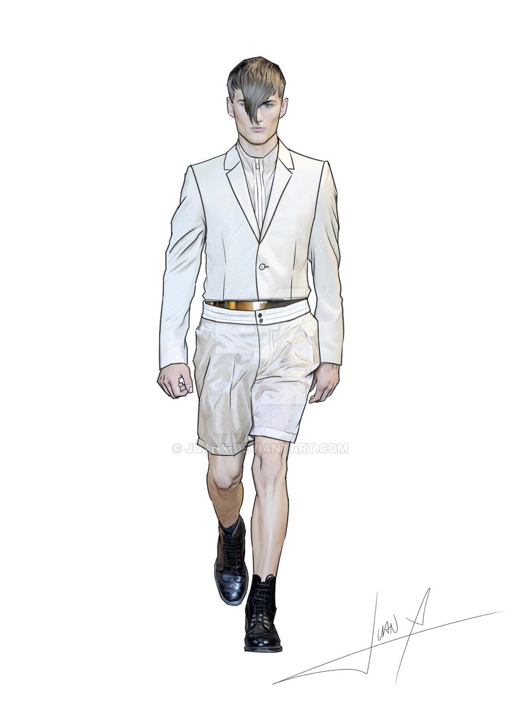 Mugler Menswear SS2012 Look 5 by JuanX