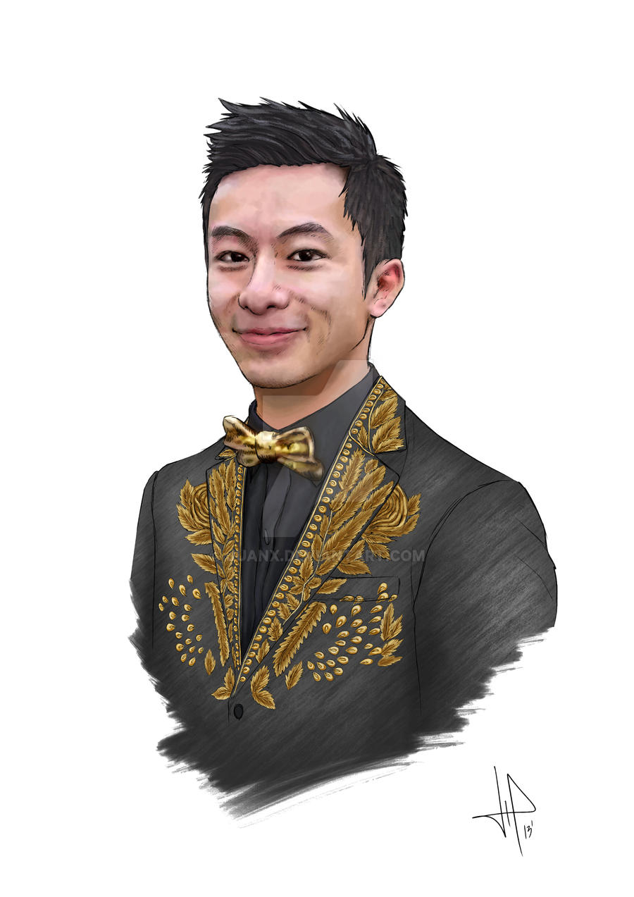 Marcus Kan Portrait by JuanX
