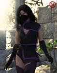 Mileena(MK11) by Marina-Myoko