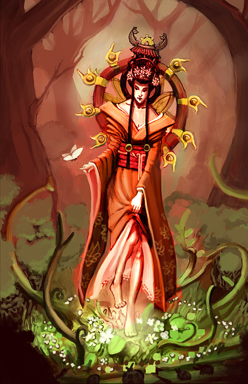 Amaterasu 1 by DrawingNightmare on DeviantArt