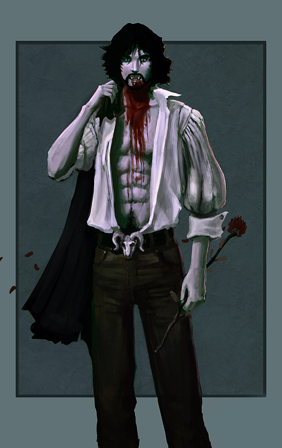 Sexy male Vampire by DrawingNightmare on DeviantArt