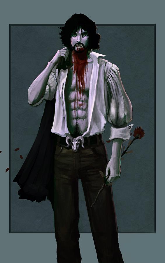 Sexy Male Vampire