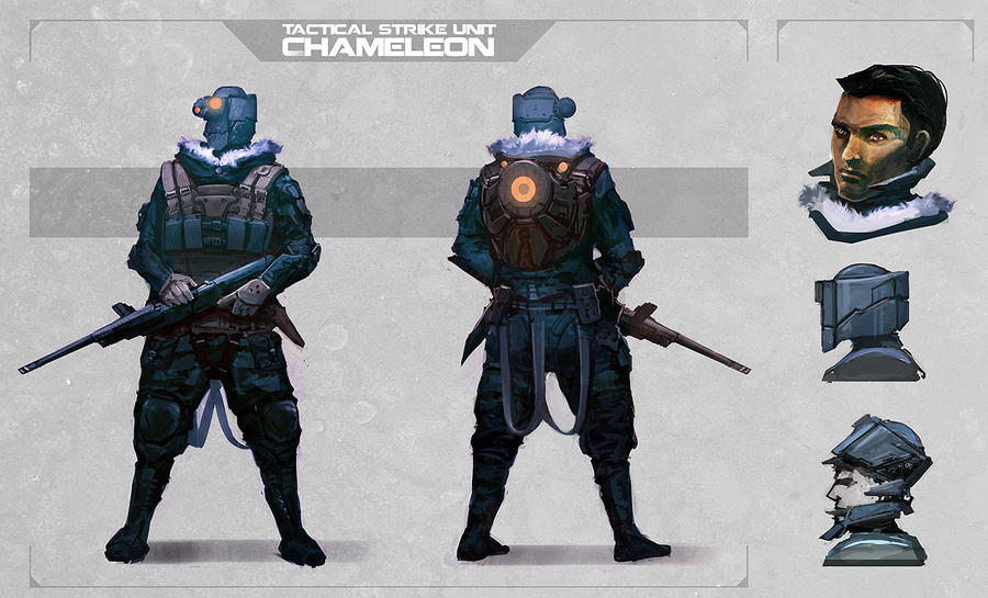 Chameleon by DrawingNightmare