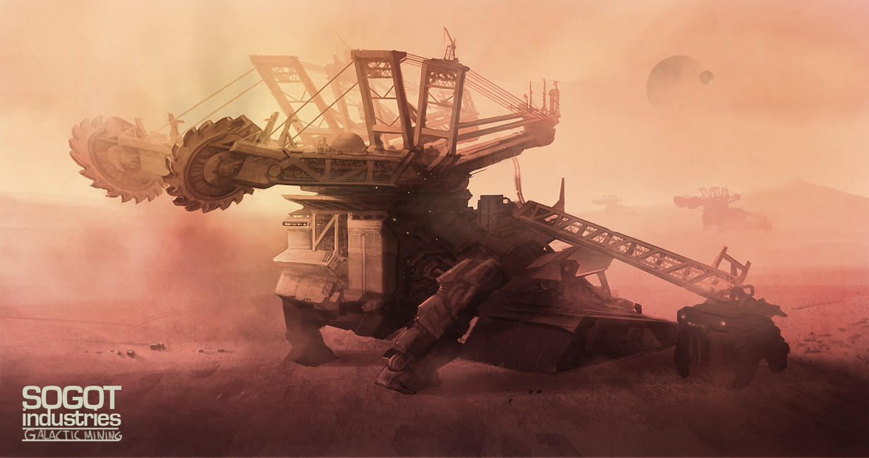 Sogot Heavy Industry Minder by DrawingNightmare
