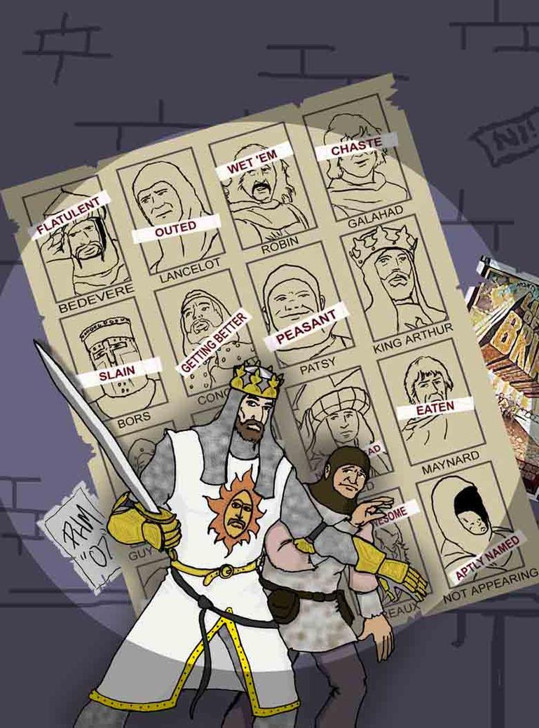 Grails of Future Past by turkeycreaux