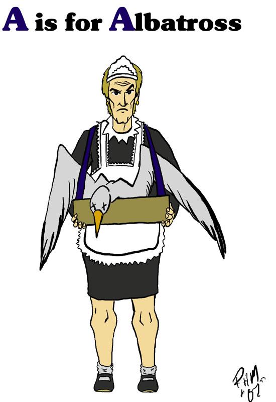 A is for Albatross by turkeycreaux