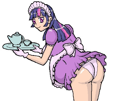Pregnant Maid Twlight Sparkle by FinalixerX