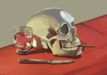 Skull Life by moooncube