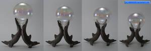 Crystal Ball Dolphin Base 001 - Hb593200