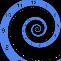 Spiral Clock 001 - HB593200 by hb593200
