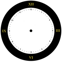 Clock Face 001 - HB593200 by hb593200