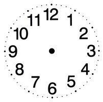 Clock Face 004 - HB593200 by hb593200