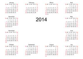 2014 Calendar Overlay 003 - HB593200 by hb593200