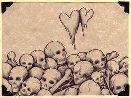 Heartskulls by stardustfaery
