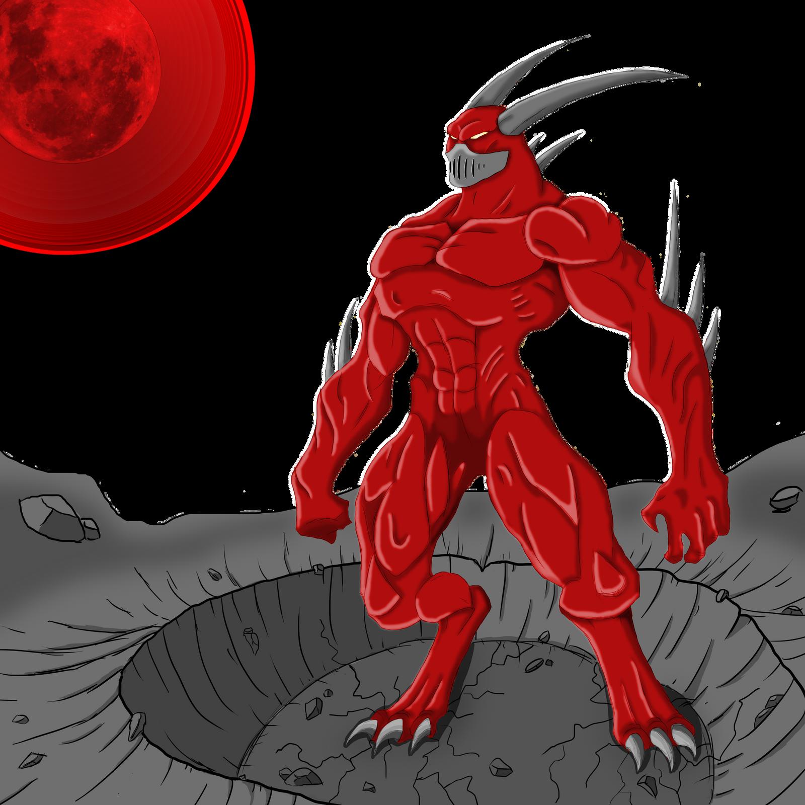 red moon demon - photo #2