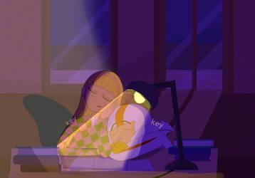 Kindall~Night lessons by KeySeyRuto
