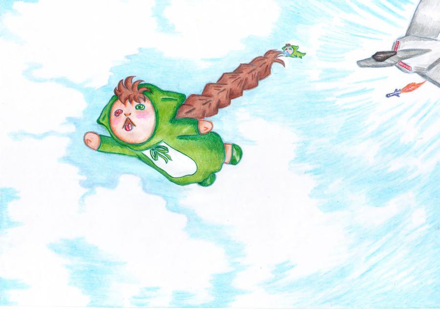Flying Jissouseki Volador by IsacLoboZ