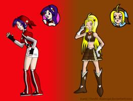 Athena x Malin - Change... by KuraiTenshi89