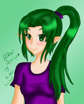 Collab Hikari by Nelly owo