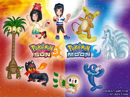 Chibi Pokemon - Sun Moon version