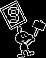 SmashCollab - Mr GameAndWatch