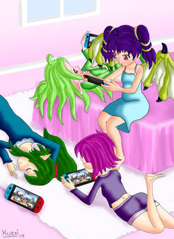 Nintendo Slice Of Life - Pajama Party