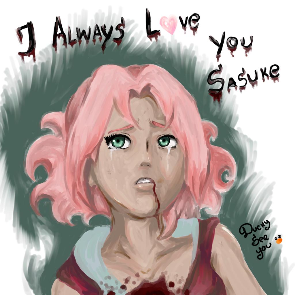 Sakura Haruno _ Sad Moment by DuckySeeYou on DeviantArt