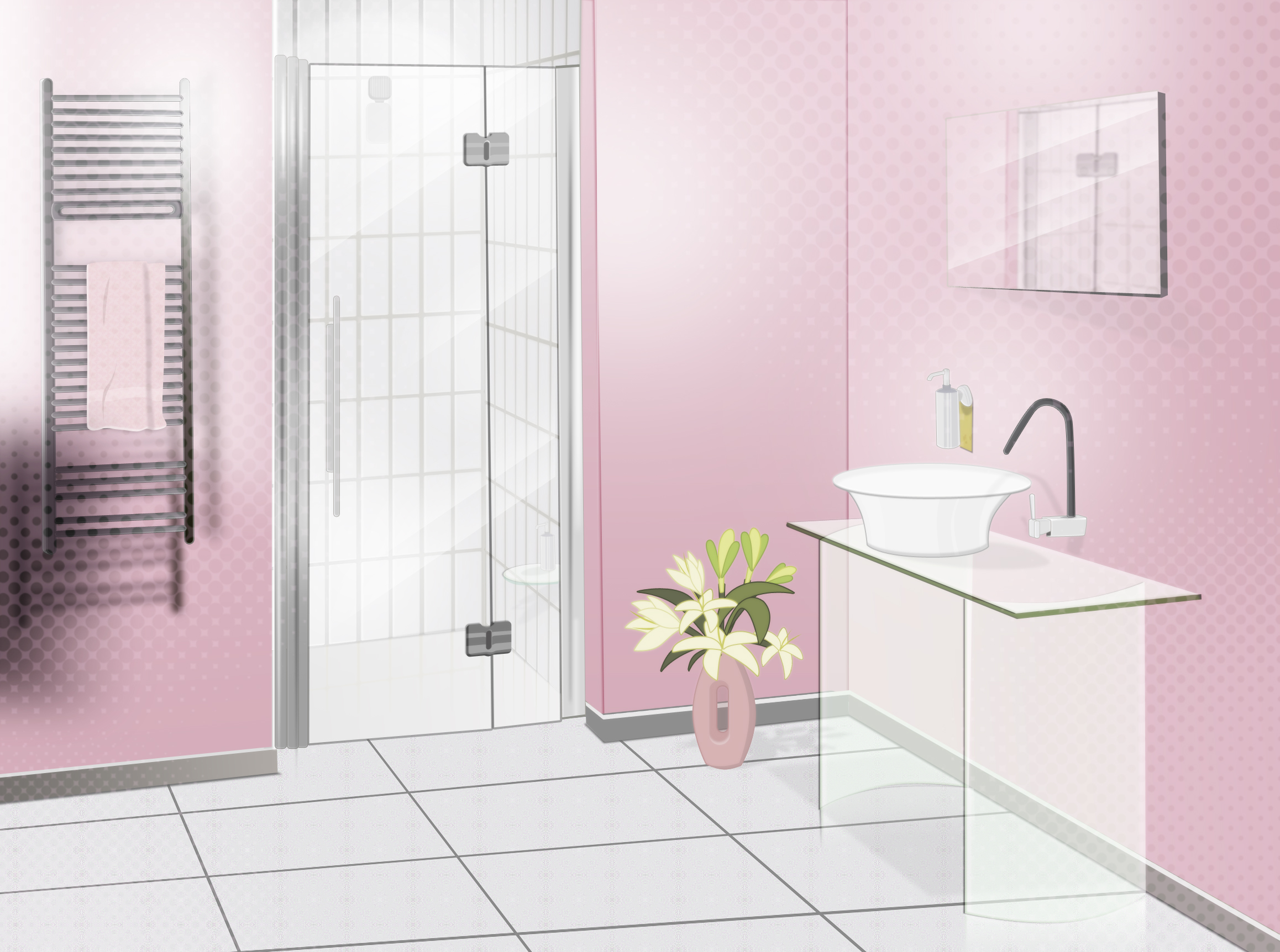 Bathroom Vector by UsuiNyaNya Bathroom Vector by UsuiNyaNya  Black Ants In  Bathroom. Bathroom Dreams