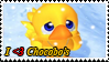 love Chocobos stamp by LadyShelleBelle