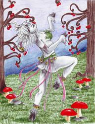 Moose- The Deer Girl by Chicken-Priestess