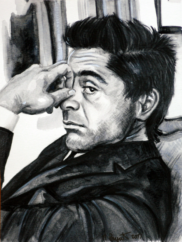 -Robert Downey Jr- by Chicken-Priestess