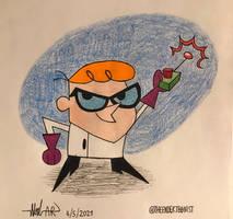 Here's Dexter! by TheEnderToonist