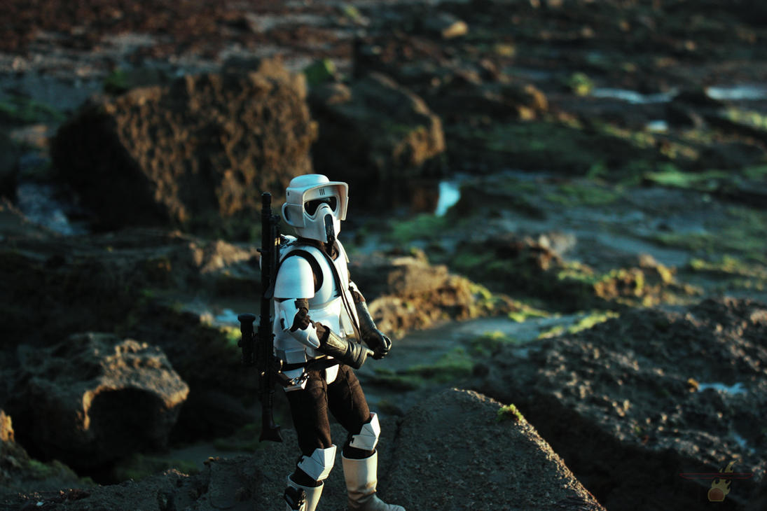 Exploring Planet (Scout Trooper Figure) by TerritoryTunguska