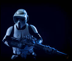 Scout Trooper With T-21B. by TerritoryTunguska